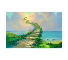 Bring Class to College Decor - Stairway To Heaven - Warren, Jim Poster - Art Posters For College