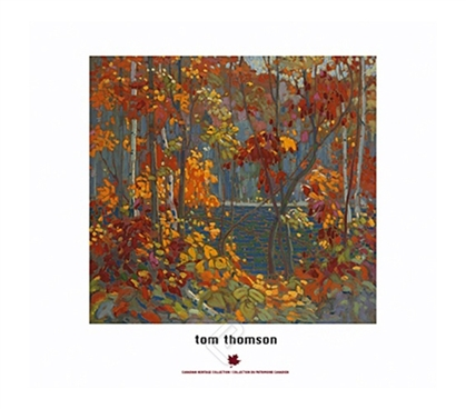 The Pool - Tom Thomson College Dorm Poster famous painting The Pool by Tom Thomson on dorm room size poster