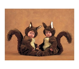 Squirrels Photography - Anne Geddes Poster Of Cute Baby Squirrels