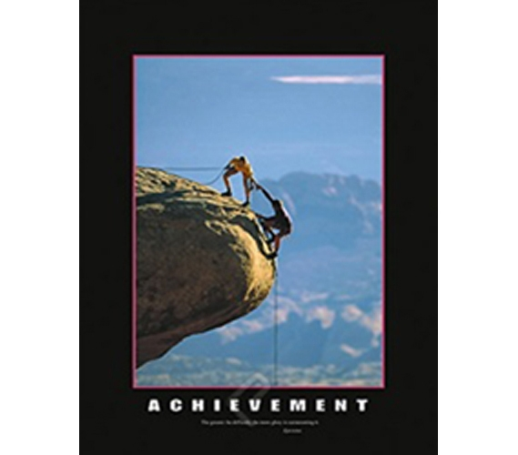 Achievement Poster Dorm Room Posters Motivate You To