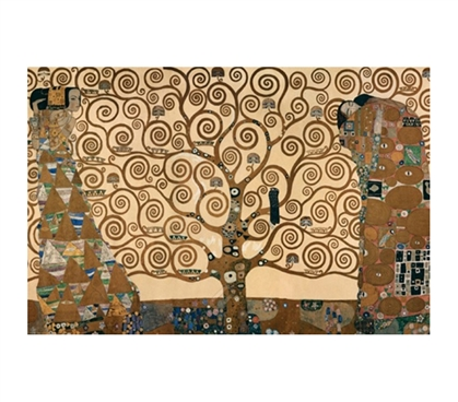 The Tree of Life - Gustav Klimt Poster - Beautiful College Dorm Poster