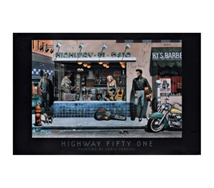 Chris Consani Highway 51 Poster - Cool Posters For College Students
