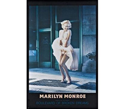 Marilyn Monroe Broken Dreams Poster - Great Poster For A College Girl
