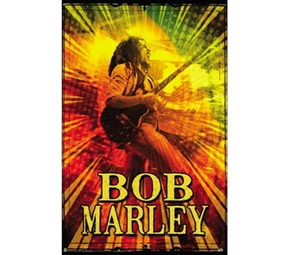 Bob Marley - Rasta LIve Poster For College Students That Love Bob Marley