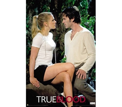 True Blood Vampire  - Sookie & Bill Poster