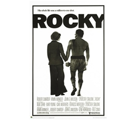 Rocky Movie Inspirational Sheet Poster