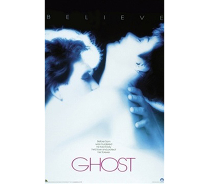 Ghost Movie Poster from 80's