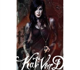 Kat Von D Tattoo Artwork - Look to Kill
