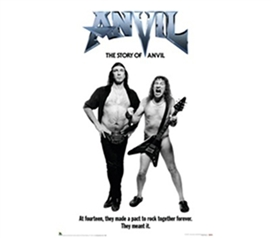 The Story of Anvil Guitar Rock Poster