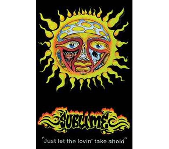 sublime sun college wall poster