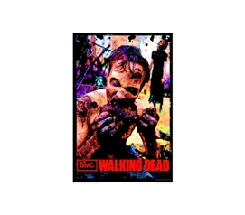 For Fans Of The TV Show - Walking Dead - Feast Poster - Gruesome Dorm Decor