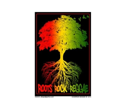College Decorations - Roots Rock Reggae Poster - Add Color To Your Dorm Decor