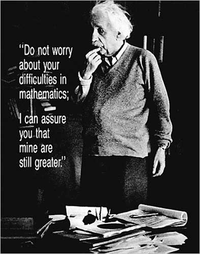 Einstein Quote Poster College Supplies Fun Dorm Products