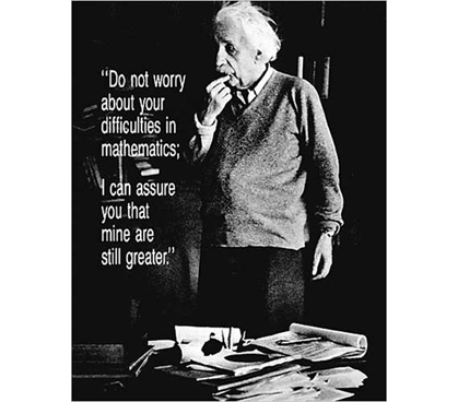 Enhances Wall Decor For Dorms - Einstein Quote Poster - Cool, Smart Poster