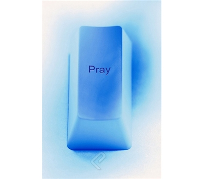 The Motivational Pray Key Poster
