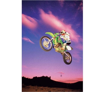 Supplies For College - Motocross Air  Poster - Cool Dorm Decoration