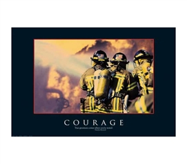 Best Wall Decor For Dorms - Courage Poster - Cool Decor Item For Dorms