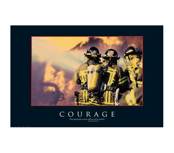 Courage Poster College Decorations Cheap Posters Must Have
