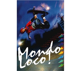 Cool Skateboarding Poster - Skateboard - Mondo Loco Poster - Supplies For Dorms