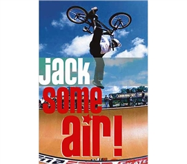 Fun Product For College - Jack Some Air! Poster - Poster For College Dorms