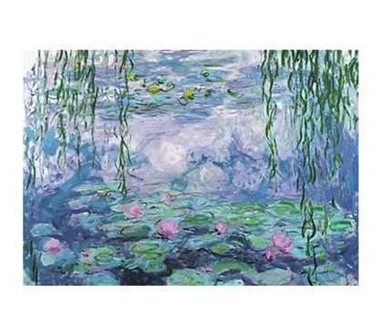 Nympheas VI - Monet  Pond Dorm Poster