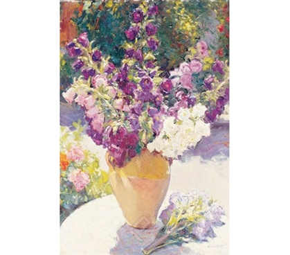 Colorful Flower Vase - Noott Painting Poster
