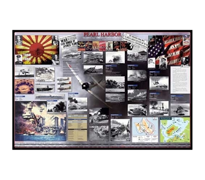 Historic & Unforgetable Pearl Harbor Poster - History Essential