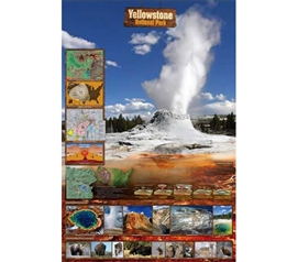 Yellowstone National Park - Beatiful Outdoor Nature Poster