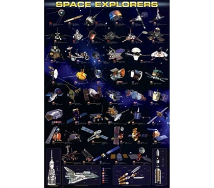 See Space Exploration Firsthand with this College Poster