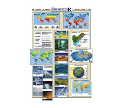 The World Weather Wall Poster Essential