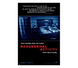 Awesome Phenomenon of Paranormal Activity - Movie Poster