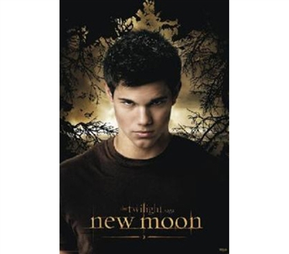 Werewolf of Twilight - New Moon Portrait of Jacob Poster