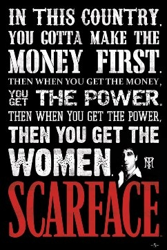 Scarface Movie Poster Money Power Amp Women Wall Poster