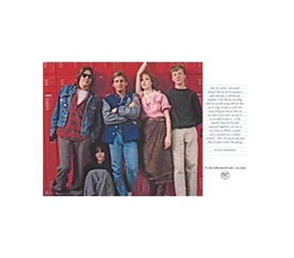Decorate With Dorm Stuff - Breakfast Club Lockers Poster - Movie Posters For Dorms