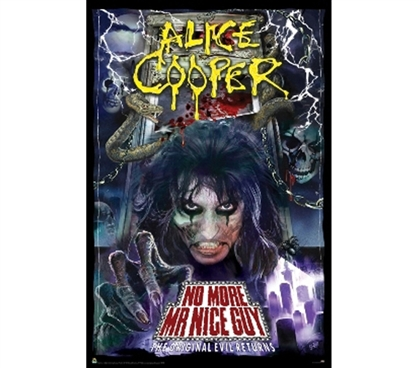 Alice Cooper - Poster College Products Fun Dorm Supplies Wall Decorations For College Dorm Decorations