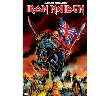 Shopping For College Dorms - Iron Maiden Maiden England Poster - Must Have College Supplies