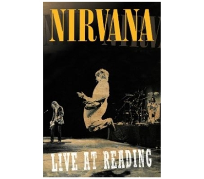 Cheap Music Poster - Nirvana Live At Reading Poster - Rock Posters