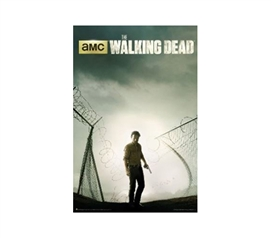 Decorate Your Dorm - The Walking Dead Season 4 Poster - Great For Fans Of The Show