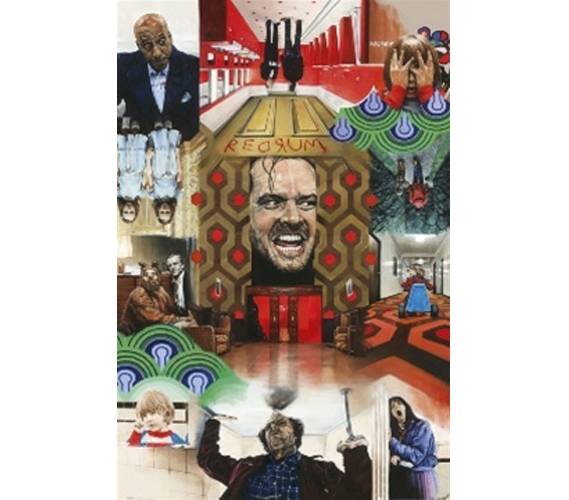 Cheap College Essentials The Shining Collage Poster