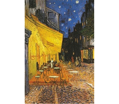 Stylish Dorm Painting of Vincent Van Gogh Cafe Poster