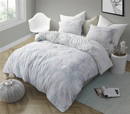 Flourish - Twin XL Comforter - Supersoft Microfiber Bedding