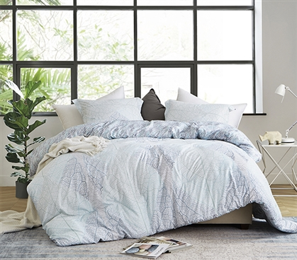 Hojas Flor - Twin XL Comforter - Supersoft Microfiber Bedding