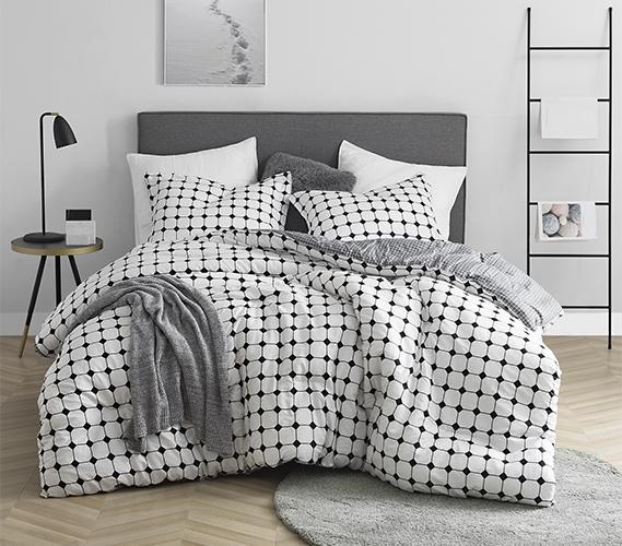 Black and White XL Twin Bedding Unique Moda Design Cozy