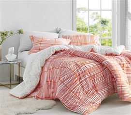 Restyle Orange - Twin XL Comforter - 100% Cotton Bedding