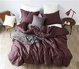 Malbec - Twin XL Comforter - 100% Cotton Bedding
