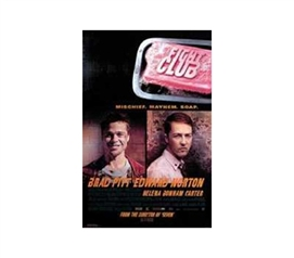College Movie Lover Essential - Fight Club Poster