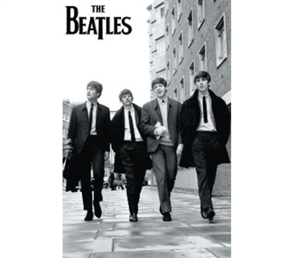 Must-Have For Beatles Fans - The Beatles Street Poster - Great For Dorm Life