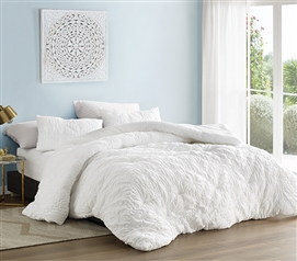 Farmhouse Morning Textured Bedding - Twin XL Comforter