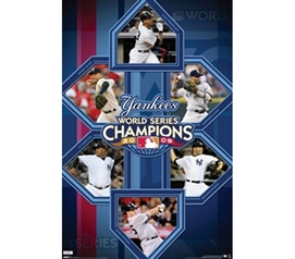 Legacy of NY Yankees 2009 League Champions Poster