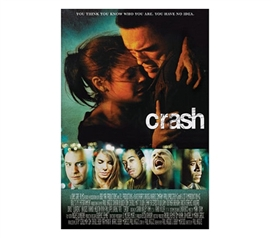 Tribute to Hit Phenomenon Crash Movie (Faces, Credits) Poster